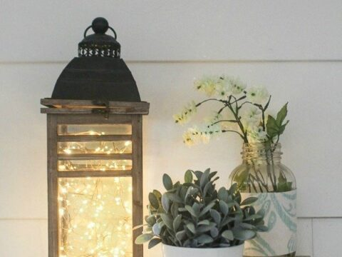 How To Make A Fairy Light Lantern In 5