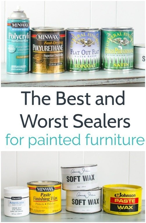 The Best And Worst Sealers For Painted Furniture Lovely Etc