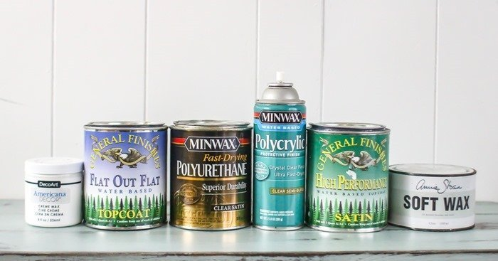top coats for painted furniture