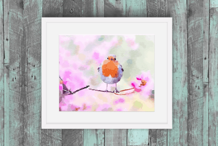 photograph regarding Free Printable Watercolor Pictures to Paint named Cost-free Spring Printables in direction of Brighten Your Dwelling - Attractive Etcetera.