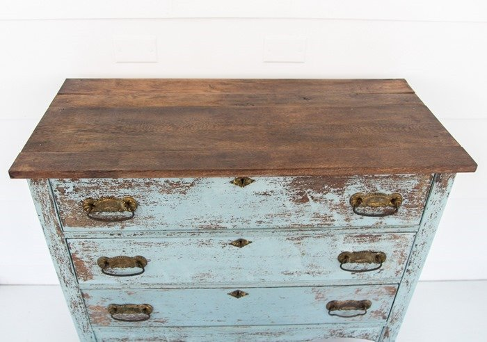 new top for farmhouse dresser
