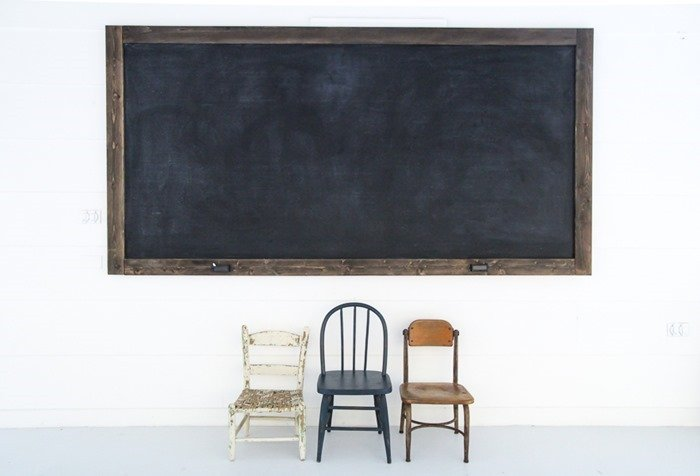 how to make a large chalkboard (2)
