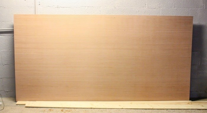 wood for large diy chalkboard