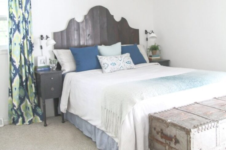 Cozy Master Bedroom Makeover for Super Cheap