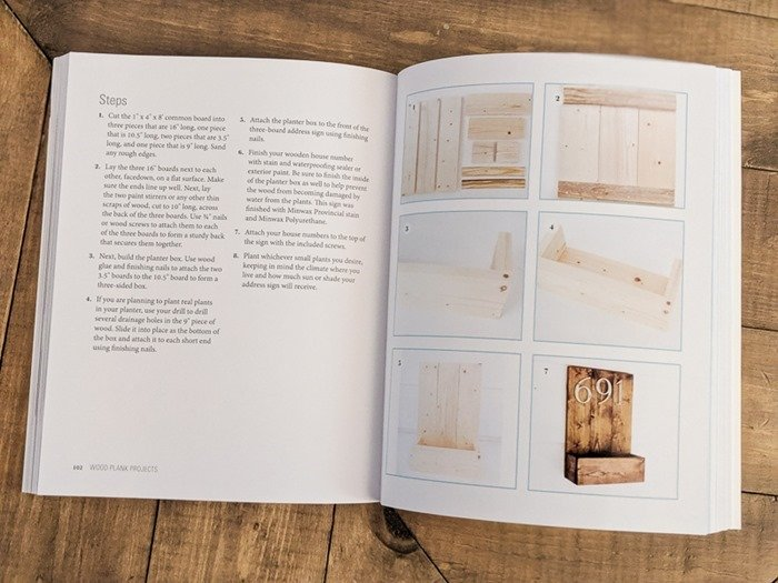inside wood plank projects book
