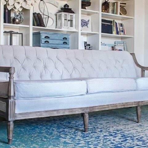 How To Reupholster A Couch On The Cheap