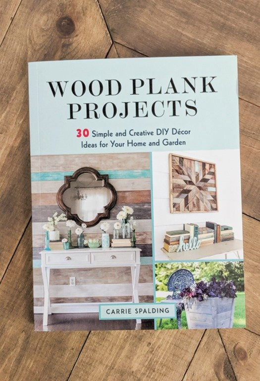 Wood Plank Projects is full of DIY projects using inexpensive wood planks and reclaimed wood to make gorgeous decor for your home and garden.