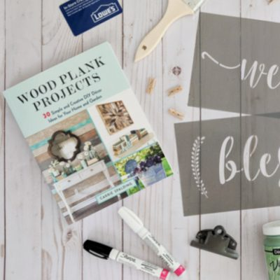 Wood Plank Projects: The Projects plus a Big Giveaway