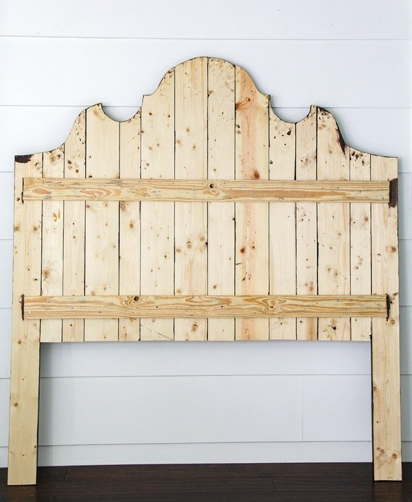 how to build a diy wood headboard