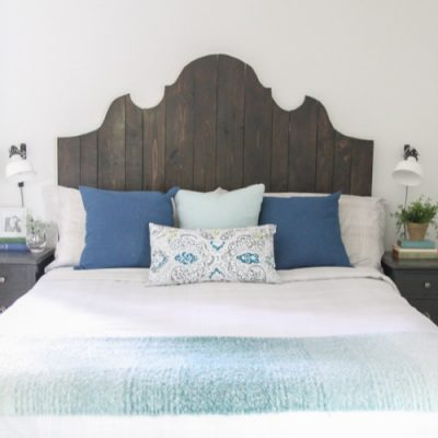 How to Make a Beautiful DIY Wood Headboard