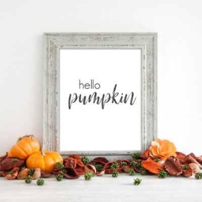 Free Black and White Fall Printables