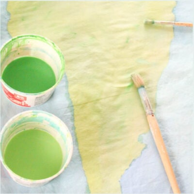 How to Paint Fabric for Beautiful DIY Projects