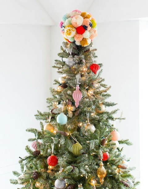 DIY Tree Topper & Our Holiday Space with Martha Stewart!