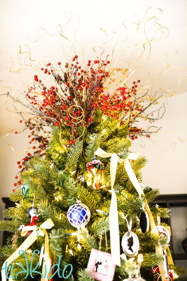 Easy, Dramatic, DIY Christmas Tree Topper