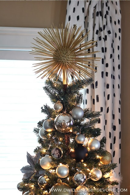 DIY Starburst Tree Topper