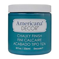DecoArt ADC-19 Americana Chalky Finish Paint, 8-Ounce, Treasure