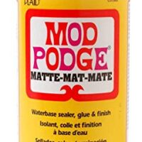 Mod Podge Waterbase Sealer, Glue (16-Ounce) CS11302 Matte Finish, 3 Pack