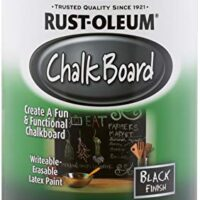 Rust-Oleum Available 206540 Chalkboard Brush-On, Black, 30-Ounce, 30 oz