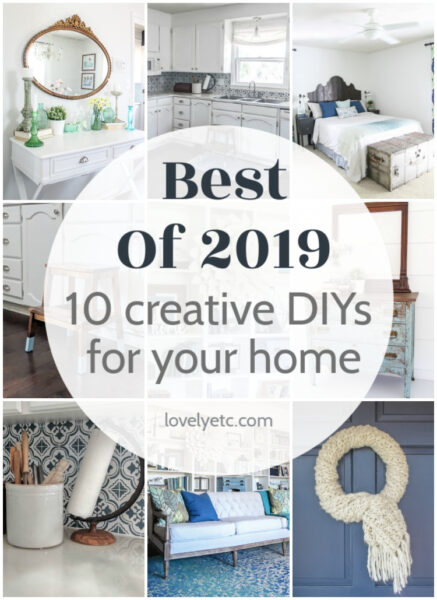 Best of 2019 - 10 creative DIYs for your home