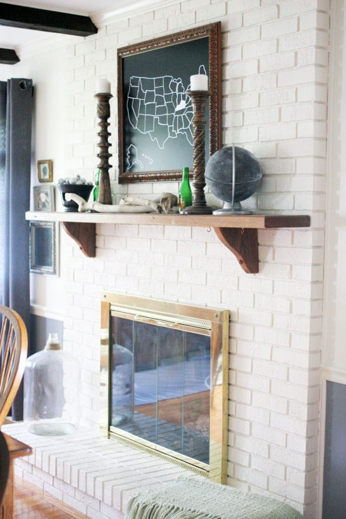 How to Paint a Brick Fireplace (and the Best Paint to Use!)