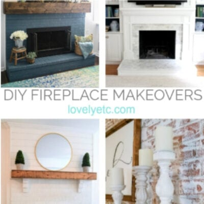 25 Beautiful DIY Brick Fireplace Makeovers