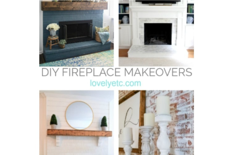 25 Beautiful Diy Brick Fireplace Makeovers Lovely Etc