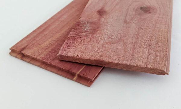cutting cedar planks
