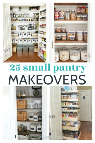 25 small pantry ideas and makeovers