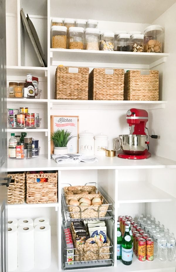 25 Inspiring Small Pantry Ideas And Makeovers Lovely Etc