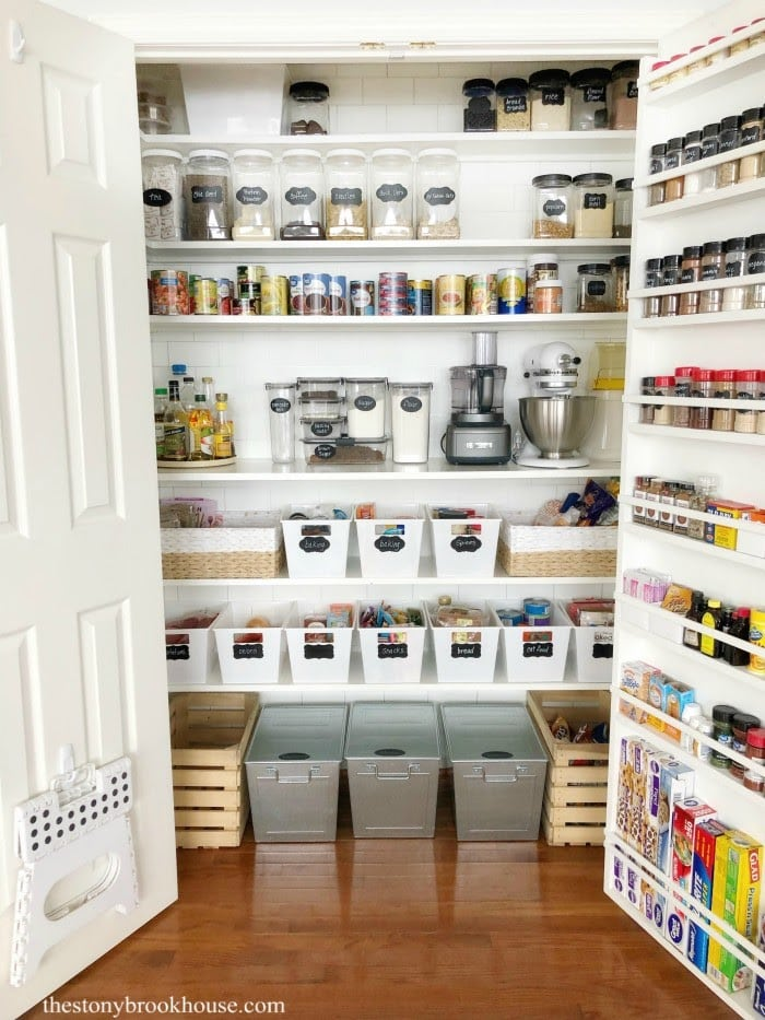 My Organized Pantry - Pantry Makeover Part 2