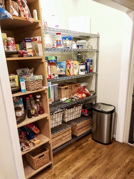 Our Pantry Hallway Reveal