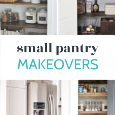 25 Inspiring Small Pantry Ideas and Makeovers