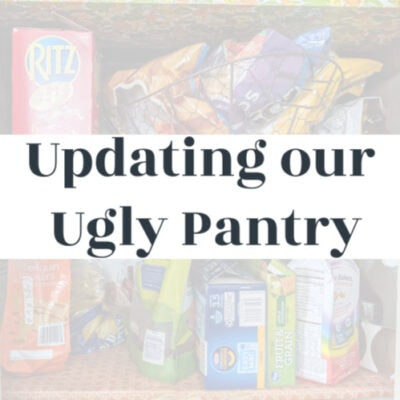 Updating our Ugly Pantry: The Before and Plans