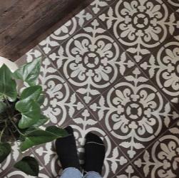 valencia tile stencil