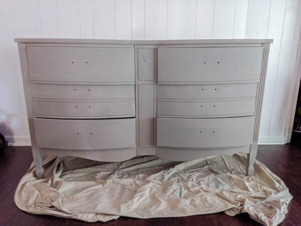 painting a dresser