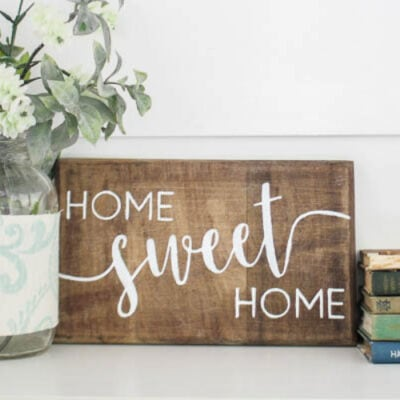 How to Stencil on Wood with Beautiful Results Every Time
