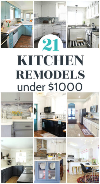 21 kitchen remodels under 1000 dollars