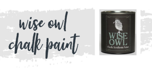can of wise owl chalk synthesis paint