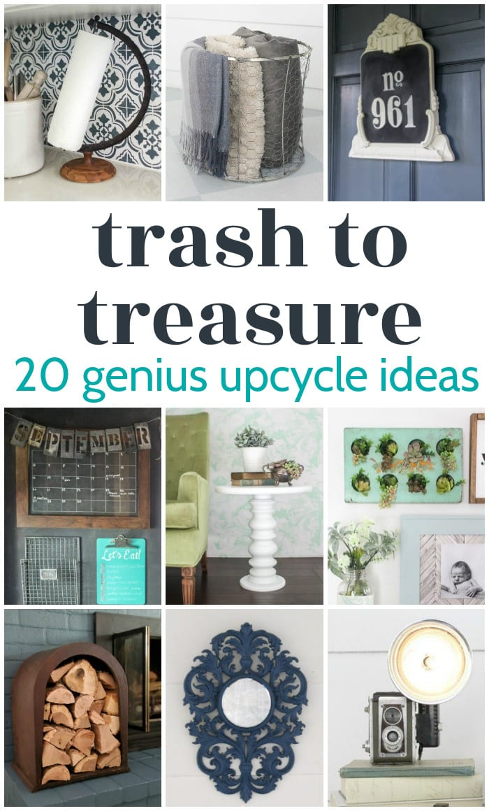 trash to treasure projects collage