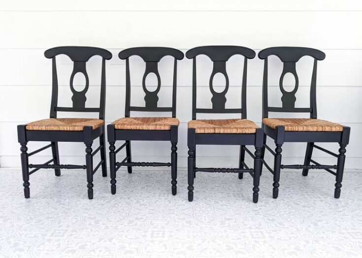 How To Paint Wooden Chairs The Easy Way, How To Paint Old Dark Wood Furniture