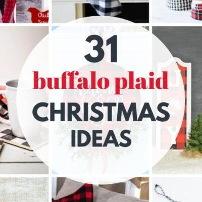 31 DIY Buffalo Plaid Christmas Decorating Ideas