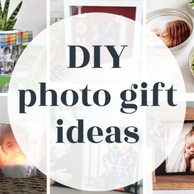 21 Easy and Creative DIY Photo Gift Ideas