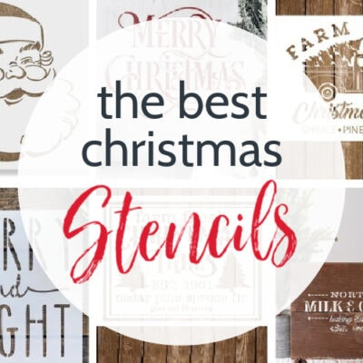 The Best Christmas Stencils for all your Christmas Projects