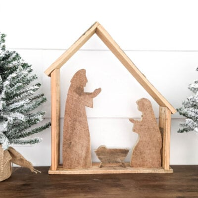 How to Make a Simple DIY Wooden Nativity