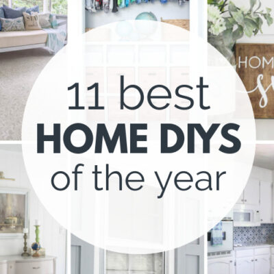 Best of 2020: 11 Creative DIY Home Projects