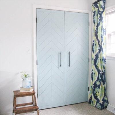 How to Transform your Sliding Closet Doors into Hinged Doors