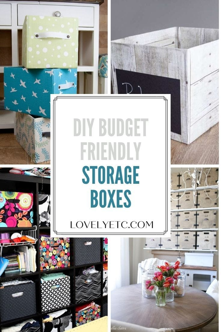 21 budget friendly storage boxes