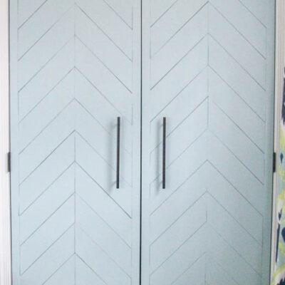 Closet Door Makeover: How to Make any Door Beautiful