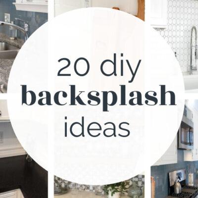 20 Budget-Friendly DIY Backsplash Ideas for Every Kitchen