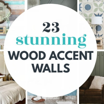 23 Stunning DIY Wood Accent Walls For Your Home
